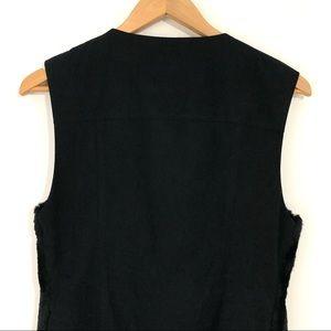 Ainsley Jackets & Coats - Ainsley Women's Size XS Black Rabbit Fur Vest